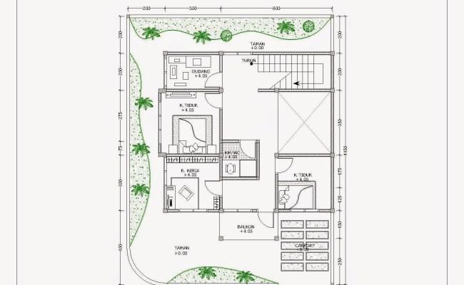 Desain Taman Cad Cute766