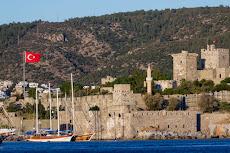 Arriving in Turkey in Bodrum