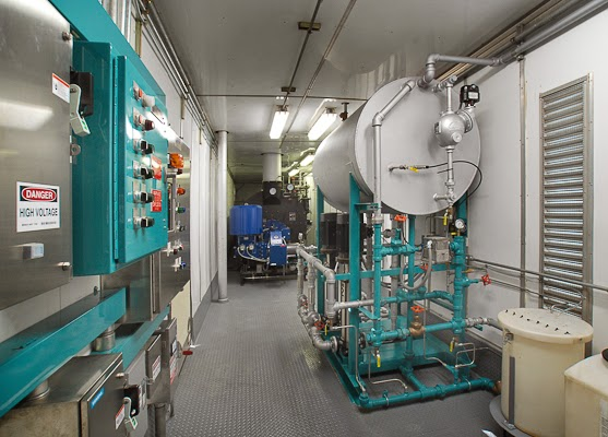 Nationwide Boiler Mobile Boiler Room