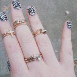 zebra nail art designs ideas 2017