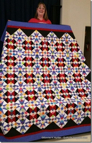 Cathedral Stars Quilt Pattern : cathedral, stars, quilt, pattern, Quiltville's, Quips, Snips!!:, Cathedral, Stars, Saturday!