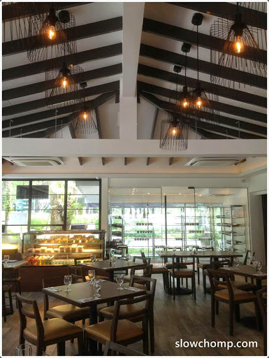 Inside the restaurant view of the drinks counter & Canopy Garden Dining u0026 Bar @ Bishan Park 2