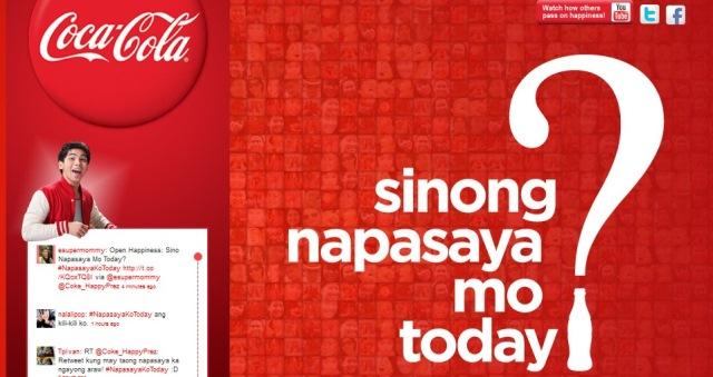 Sinong napasaya mo today?