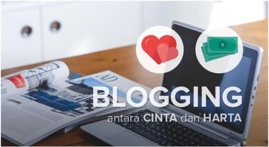 Blogging Antara Cinta dan Harta, Darmawan PanduanIM