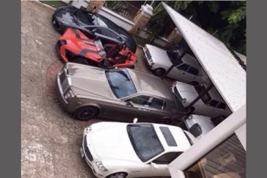 Nigerian Politician Garage
