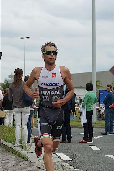 Lopen tijdens triathlon
