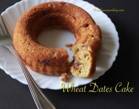 Wheat Dates Cake2