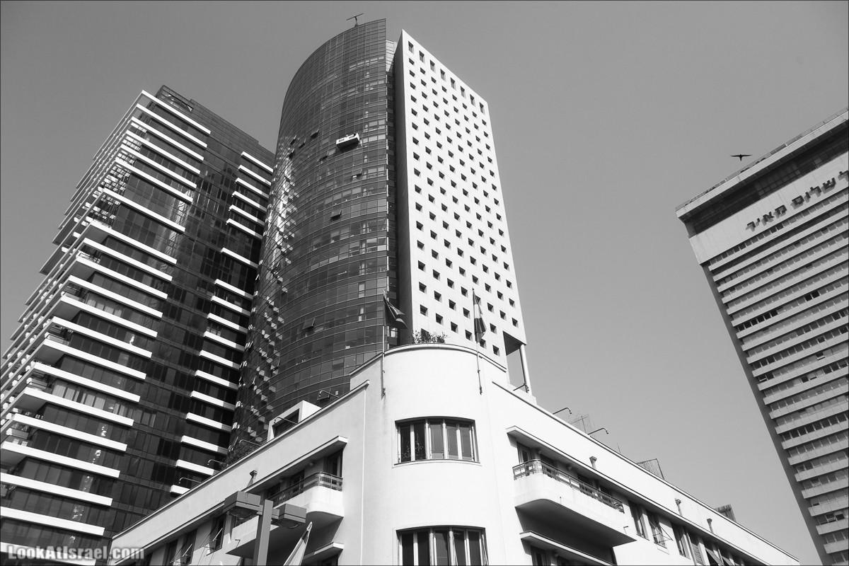 Дома и небоскребы бульвара Ротшильд, Тель-Авив | LookAtIsrael.com - Фото путешествия по Израилю и не только...
