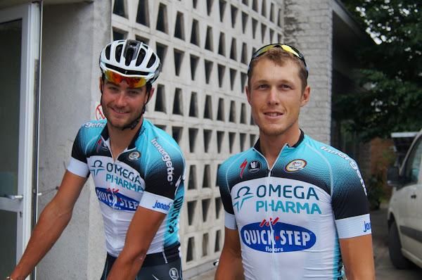 Guillaume Van Keirsbulck en Matteo Trentin