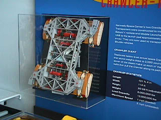 4210Model of Shuttle Launch System