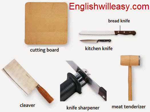 Kitchen Pictures and List of Kitchen Utensils with Picture ...