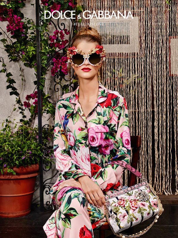 6c6fd53a850 Spring-Summer 2016 Eyewear Campaign by Dolce   Gabbana - INTERESTINGONLY