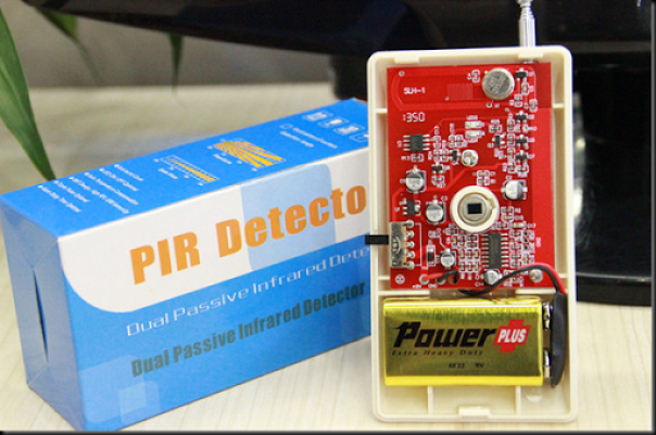 wireless pir detector