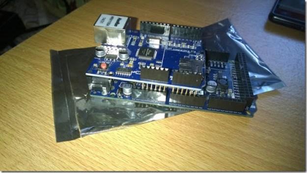 Arduino due e la ethernet shield thu - Sviluppare con Arduino due