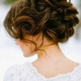 great wedding hairstyle for medium hair 2016