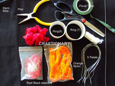 nylon-flower-orange-stocking-net-material