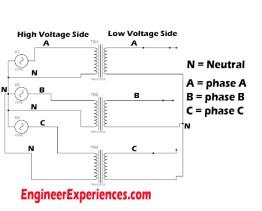 Step Down the 3 phase Voltage