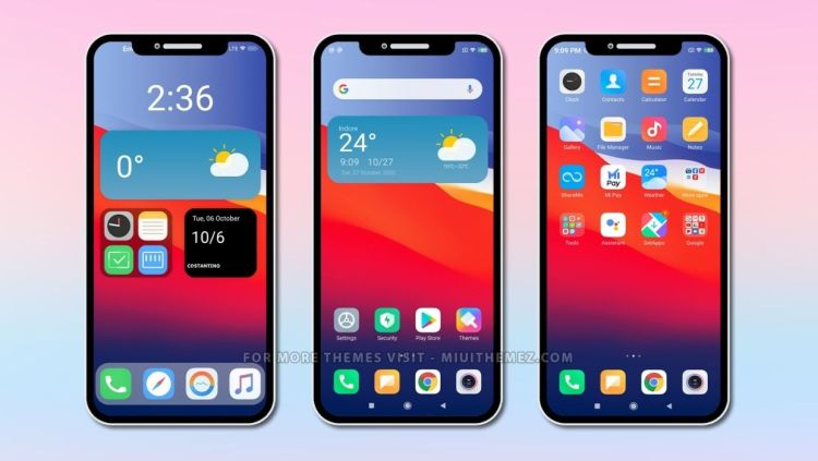 [DOWNLOAD] : CS14 mod v12 MIUI Theme with iOS Design for MIUI 12 Devices