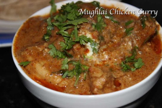Mughlai Chicken Curry3