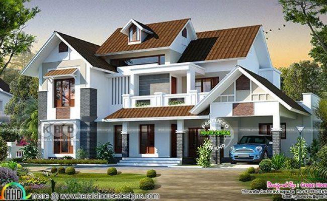 Kerala Home Design And Floor Plans Beautiful 4 Bedroom