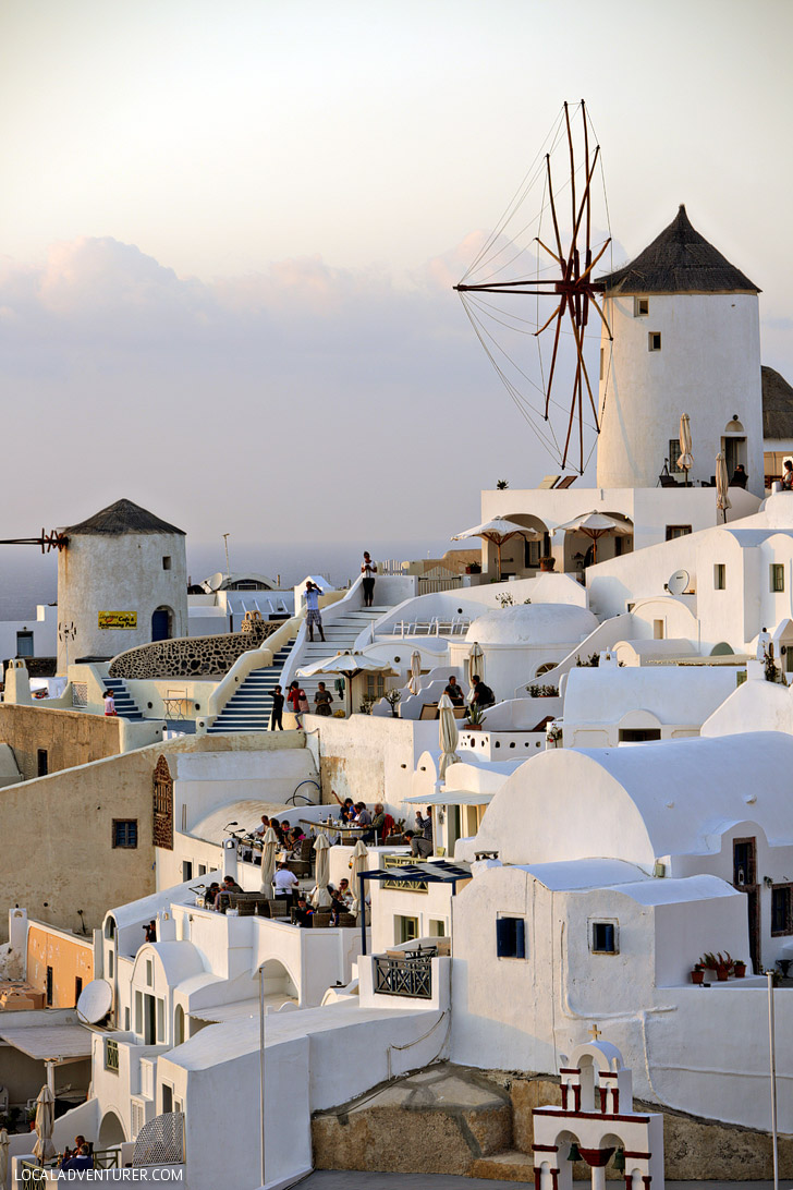 Best of Greece: Watch the Sunset in Oia Santorini.
