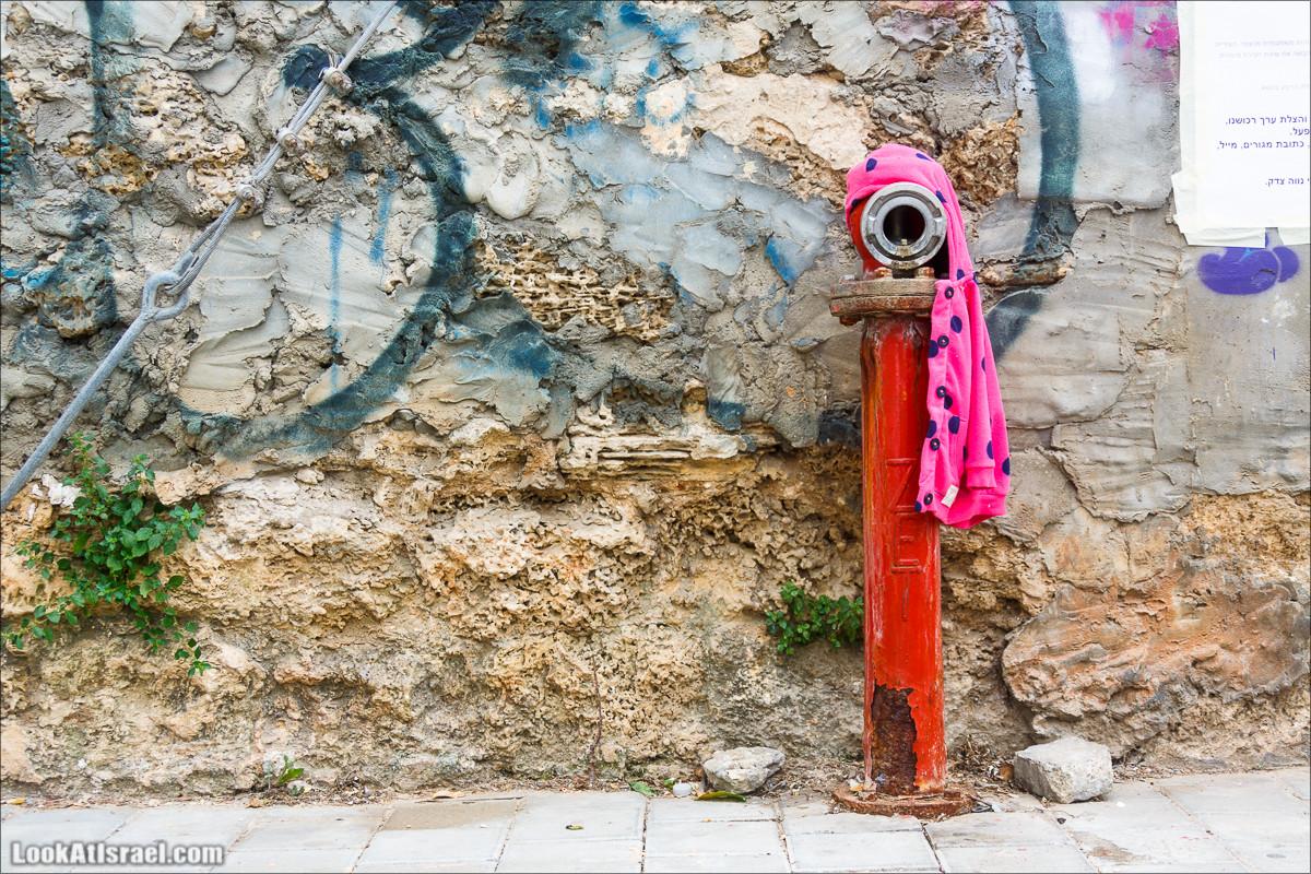 Гидранты как часть уличного искусства Тель-Авива | Hydrant art | LookAtIsrael.com - Фото путешествия по Израилю