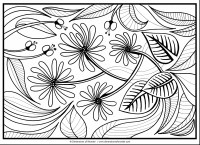 Abstract Coloring Pages For Adults Full Size. Abstract ...