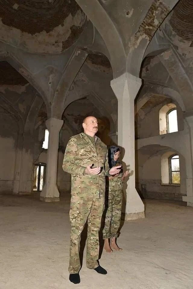 Agdam Mosque in Nagorno-Karabakh
