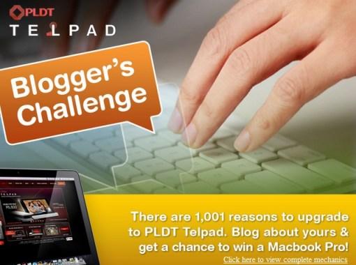 PLDT TELPAD Blogger's Challenge