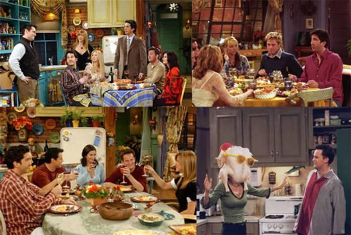 Varios episodios fueron dedicados al día de Acción de Gracias