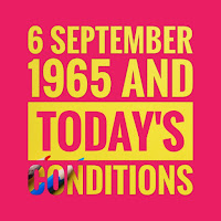 6 September 1965 and today's conditions