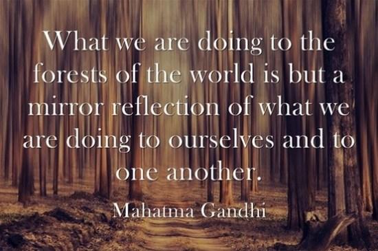 mahatma gandhi quotes about love