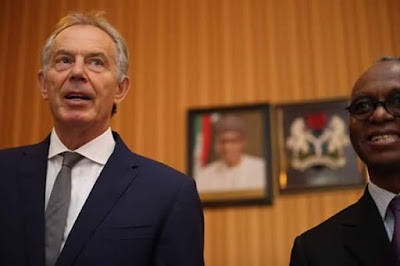 Image result for PICTURES OF TONY BLAIR VISIT TO KADUNA