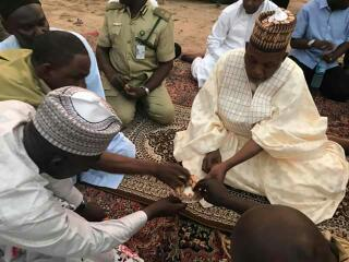 Governor Shettima Breaks Ramadan Fast With Prison Inmates(Photos)