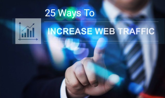 Increase traffic to website