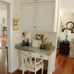 Kitchen Desk Ideas Rug Sets Two Carolina Nesters Organizing The Office Area