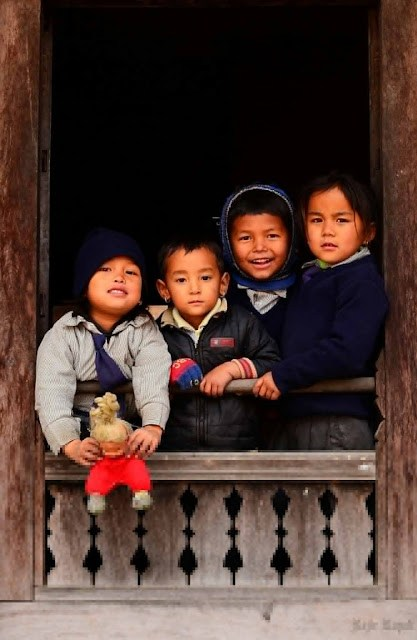 Kids from the Himalayas