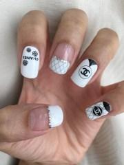 chanel nail art wraps d1006