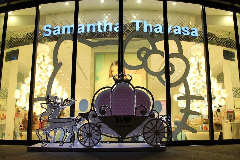 *Samantha Thavasa x Hello Kitty 艾咪包:耶誕大使王陽明挑起你的少女心! 1