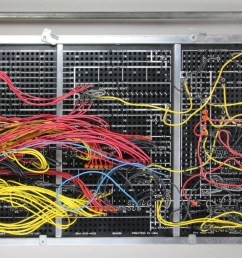 this plugboard for an ibm 403 implements tax deduction computation board courtesy of carl claunch [ 1600 x 1028 Pixel ]