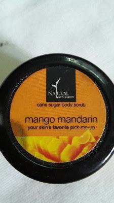 Natural Bath And Body Mango Mandarin Body Scrub :A Review 2