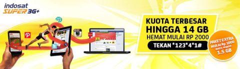Indosat Promo Ramadhan Internet 6 GB Hanya 25 Ribu