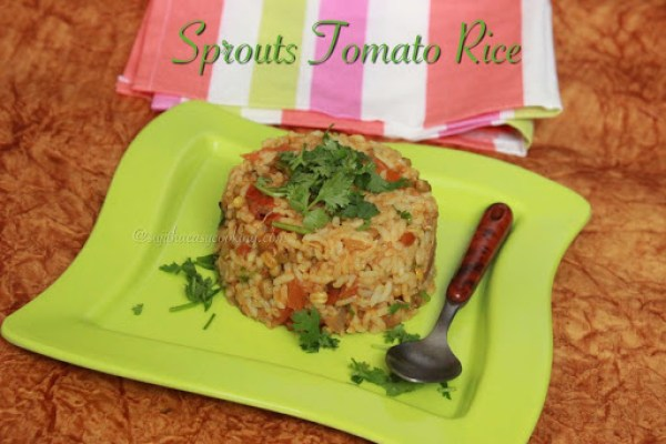 Sprouts Tomato Rice2