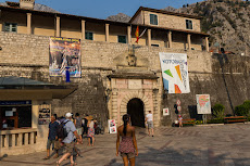 Entrance to the town of Kotor