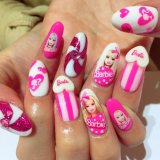 barbie nail art designs trends 2017