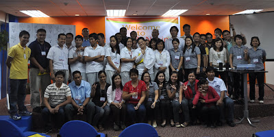 Batch 2: Monde Nissin Participants together with Moises and Joanna