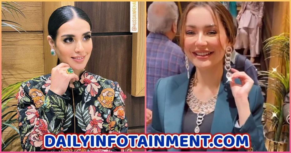 Iqra Aizz and Hania Amir spotted at Hanif Jewellers Store Launch in Islamabad