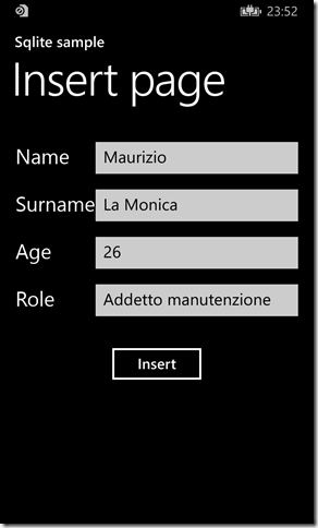 IMMAGINE 1.8 thumb1 - Parte due, Sqlite in Windows Phone 8.1