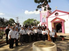 El concierto en honor al Nazareno tuvo lugar en la Iglesia de Achaguas de Apure
