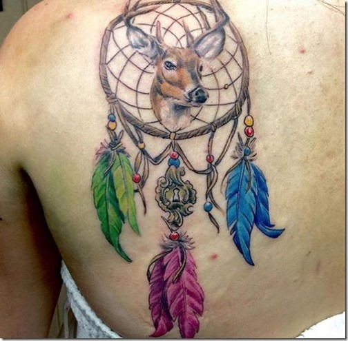 Magnífico Tatuajes De Atrapasueños Hecho A La Derecha Tatuajes247